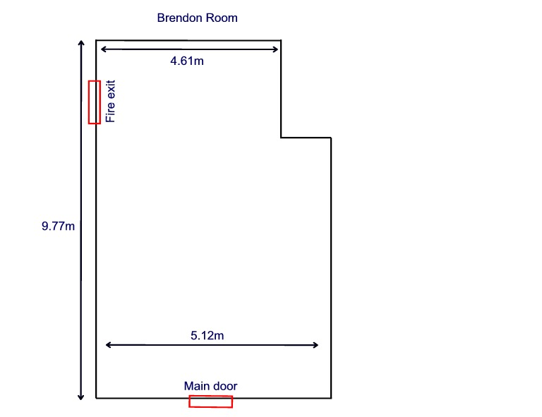 Compass Disability Services Meeting Room Layouts